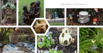 garden trinkets collage