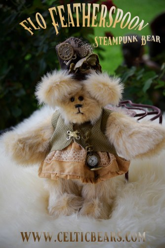 Steampunk bear Flo Featherspoon 1000 003