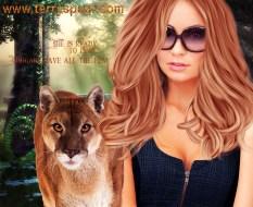 woman and cougar bigstock1 darken 1000-18170879