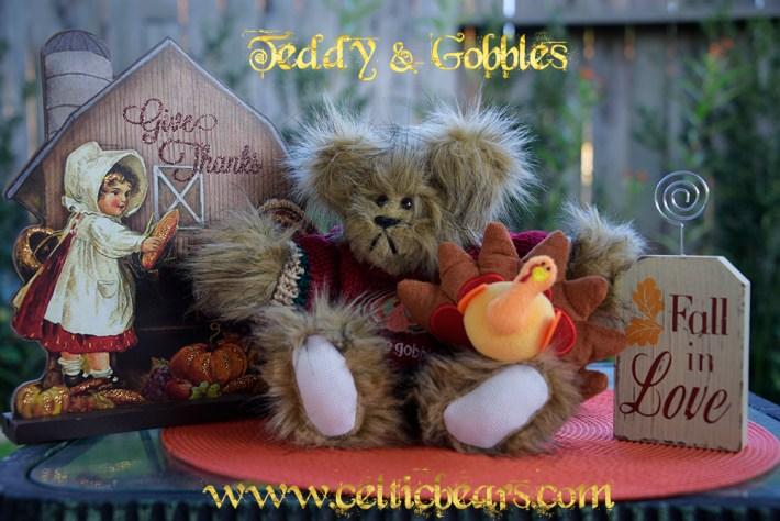 Teddy Bear and Gobbles 1000 006