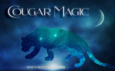 Cougar Magic cat overlay night sky 1000