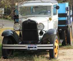 Old time truck