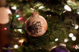 wolf ornament 1000