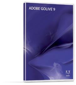 Adobe GoLive 9 CD Case