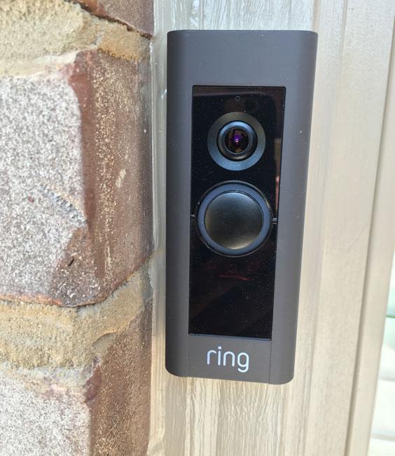 ring video doorbell pro bronze