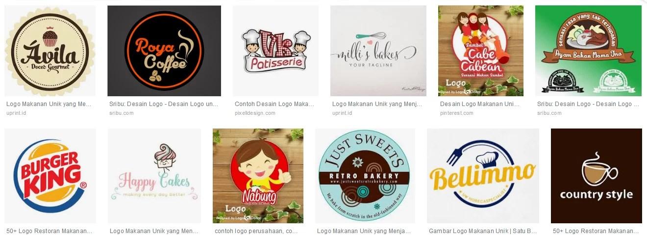 # Contoh Beberapa Macam Logo Untuk Bisnis Makanan Yang Menarik