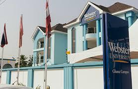 Webster University Ghana Admission 2021-2022