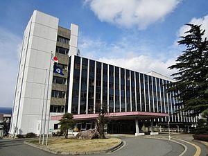 塩尻市役所 ここが山田崇さんの宿場(ホーム)です