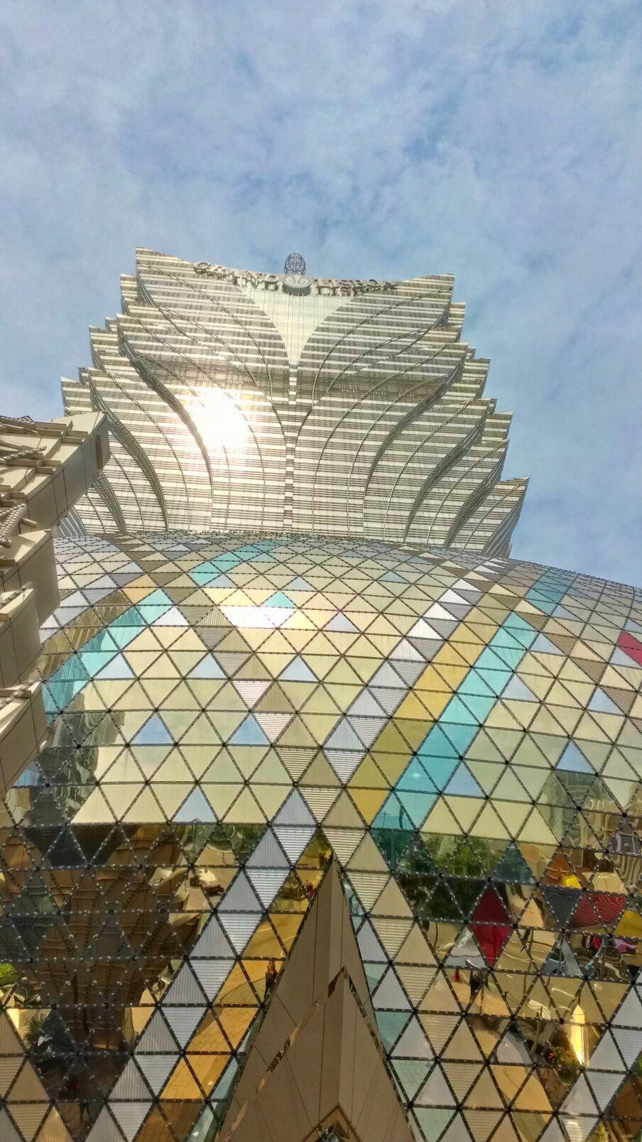マカオにあるグランドリスボアホテル