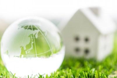 ガラスの地球と家
