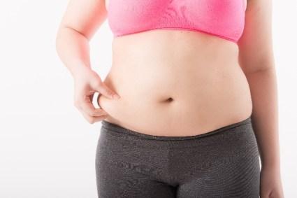 ダイエットする前の女性