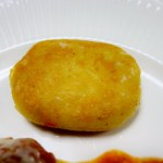 ジャガイモのマッシュinチーズ