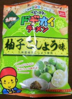 ドデカイラーメン柚子こしょう味