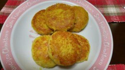 マッシュポテトinチーズ焼き