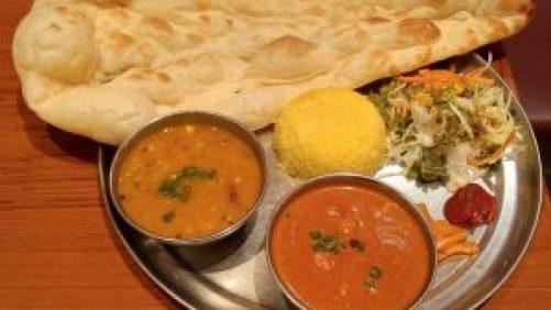 2種類のインドカレー