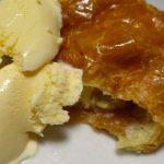 アップルカスタードパイ&バニラアイス