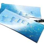 黄道12星座の領域と星めぐりのペンケース