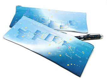黄道12星座の星めぐりペンケース