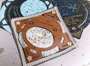 ビーズ刺繍の星座早見盤2014_天文クラフトsoragurumi