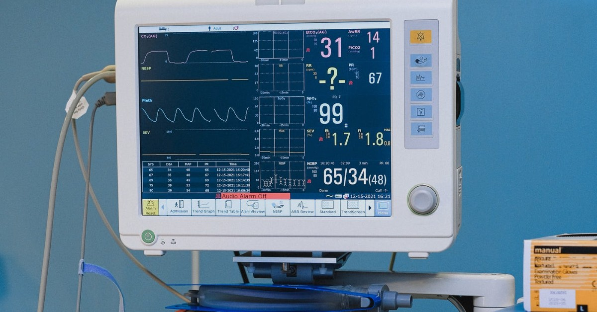 Heart rate monitor machine