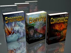 My books as 3D models