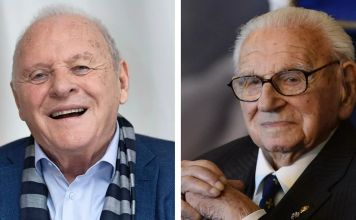 Nicholas Winton, Anthony Hopkins