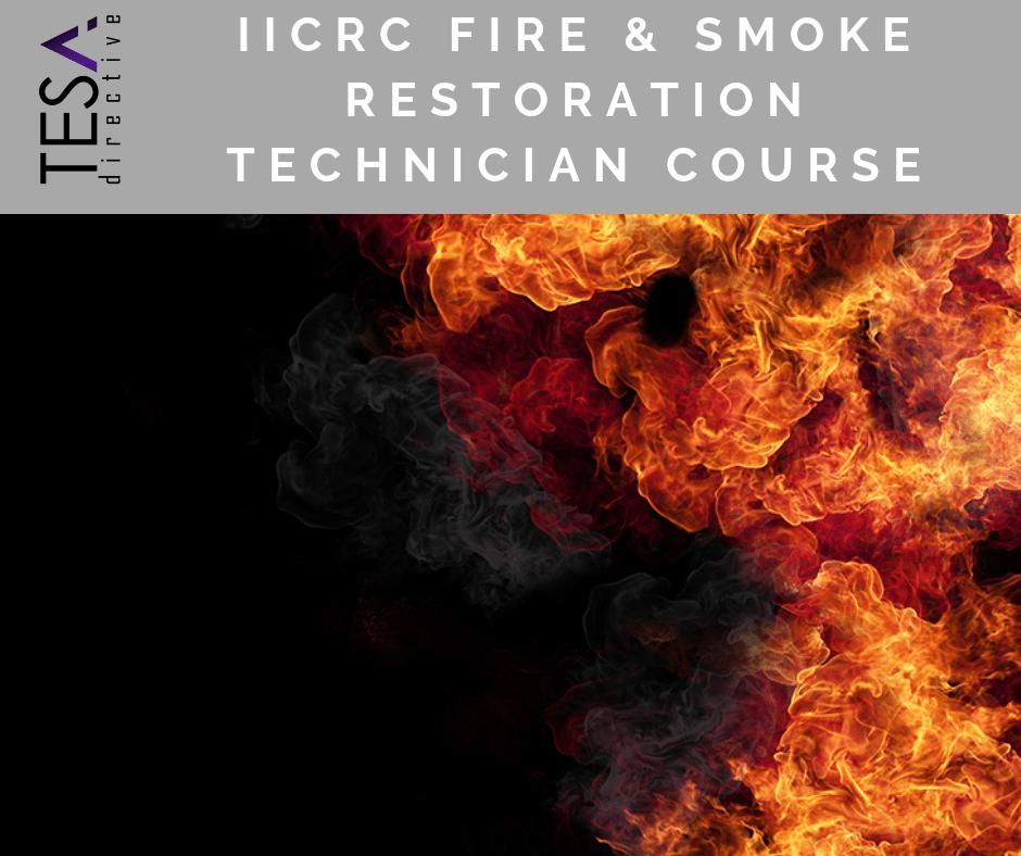 IICRC Fire & Smoke Restoration Technician - Online Course