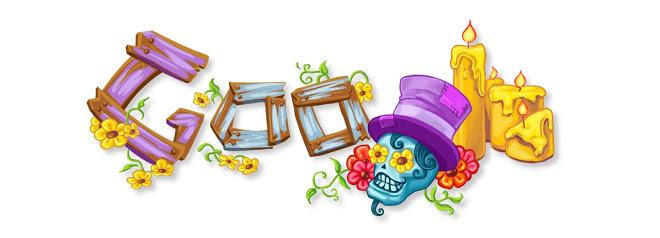 Doodle di Google 2009 - Dia de Muertos - Day of the dead