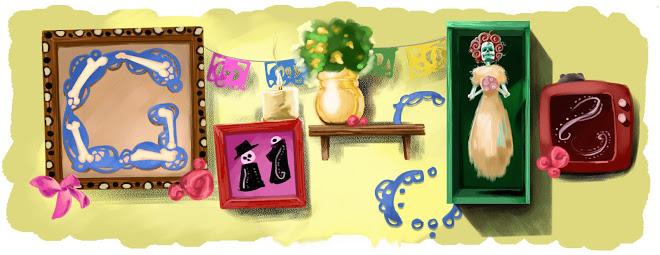 Doodle di Google 2010 - Dia de Muertos - Day of the dead