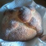 pan de muerto para altar