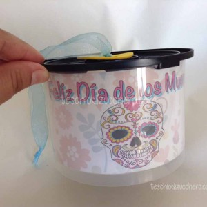 Riciclo Contenitore CD - Dia de Muertos30