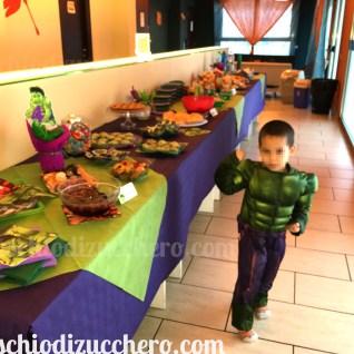 festa compleanno tema hulk