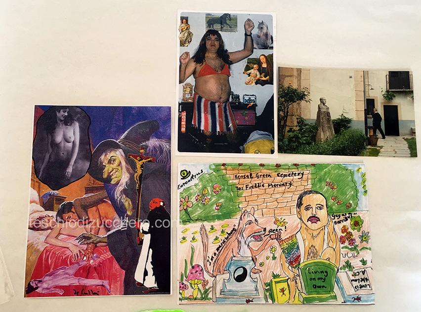 Cartoline-Mail-ART-Daniel DeCullà