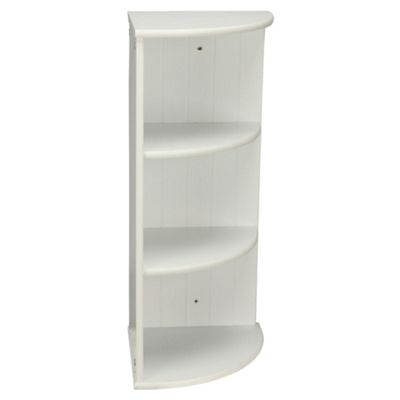 Buy Southwold White Wood Tongue Groove Style 3 Tier Wall