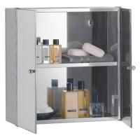 Buy Stainless Steel Mirrored Double Door Bathroom Cabinet ...