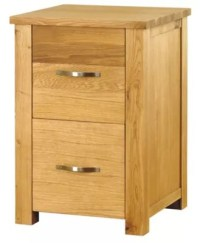 Buy Baumhaus Aston Oak Two Drawer Filing Cabinet from our ...