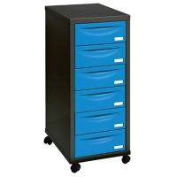 Buy Pierre Henry A4 6 Drawer Filing Cabinet, Black With ...