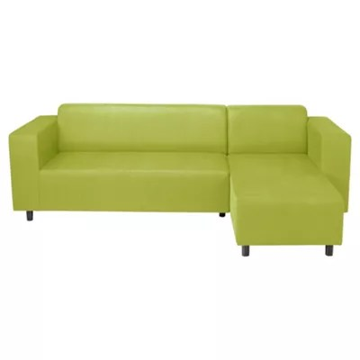 emerald corner sofa bed leather contemporary lime green lovely as sectional sofas