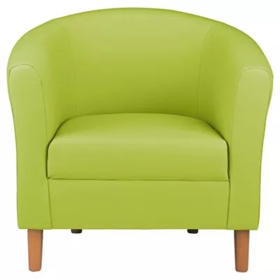 Lime Green Chair Lime Green Leather Corner Sofa Brokeasshome