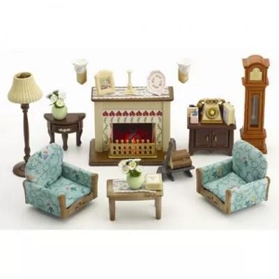 sylvanian families log cabin living room furniture set for small singapore myshop