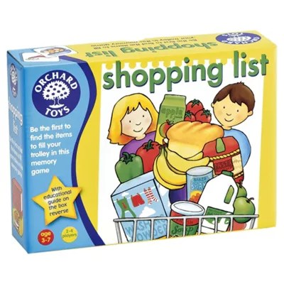 Buy Orchard Toys Shopping List Educational Game From Our