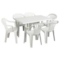 Upvc Garden Table And Chairs | Fasci Garden