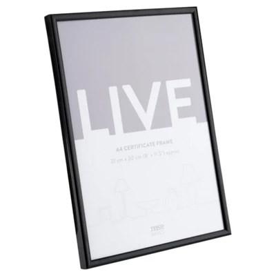 basic black photo frame