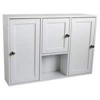 Buy 3 Door Bathroom Cabinet, White from our Bathroom Wall ...