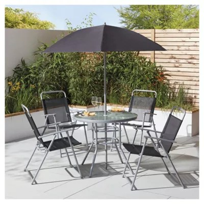 garden chair covers tesco chairs for posture hawaii furniture set 6 piece