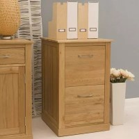 Buy Baumhaus Mobel Oak 2 Drawer Filing Cabinet from our ...