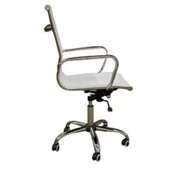 Desk Chair Tesco Aeron Review Casino White Office
