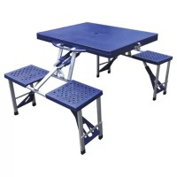 Buy Tesco Folding Camping Picnic Table & Chairs from our ...