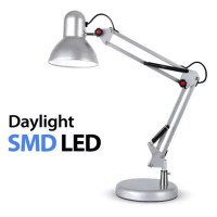 Buy Adjustable Daylight LED Desk Lamp, Silver from our