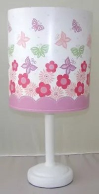 Buy Butterfly and Flowers Bedside Lamp from our Table ...